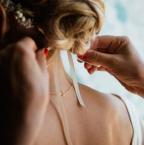 Un chignon comme coiffure de mariage